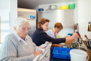 Aktiv sein in der Küche